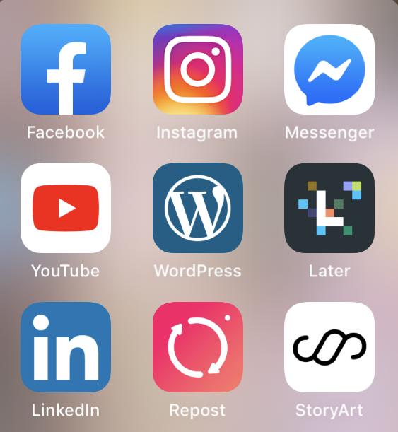 kommunikation och sociala medier